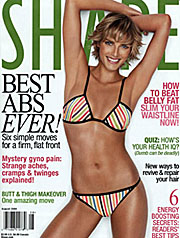 shape magazine cover