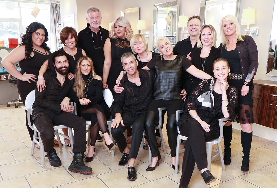 XOMA salon staff photo